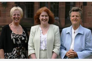 Margaret Kenyon lunch GD heads Gill Richards, Sue Hincks, Jane Panton
