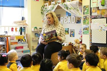 Nursery Class New Teacher Reading