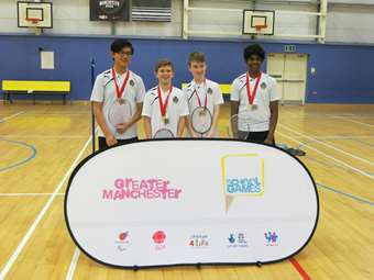 U14 Badminton Greater Manchester School Games