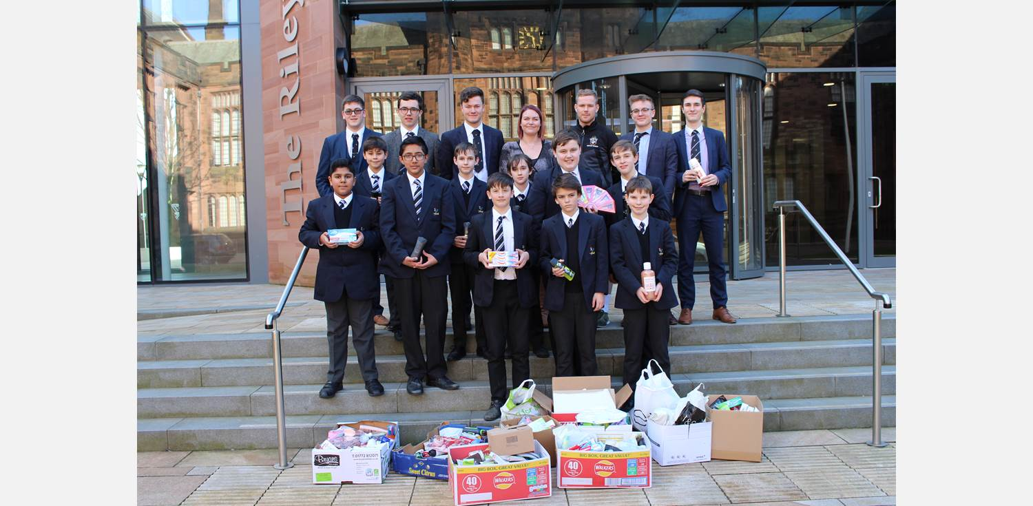Night Safe Donation from Blackburn House