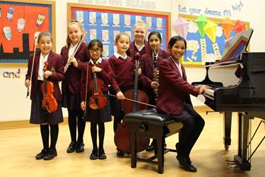 The Junior Girls' Music Festival showed off the wide variety of talent in the school