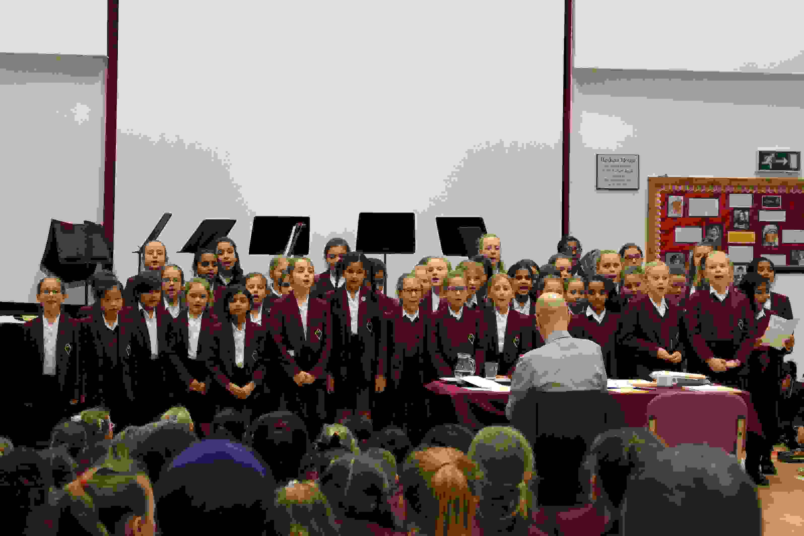 Music Festival choir