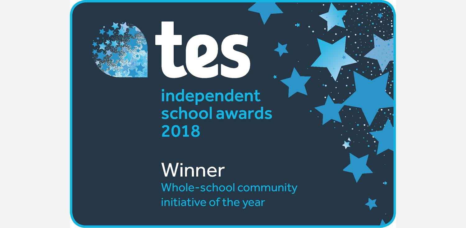TES Awards Winner Whole-school community initiative of the year