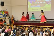 MFL Day India assembly dance