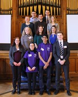 The Boys' Division hosted the first Northern Young Scientists Journal Conference in February 2018