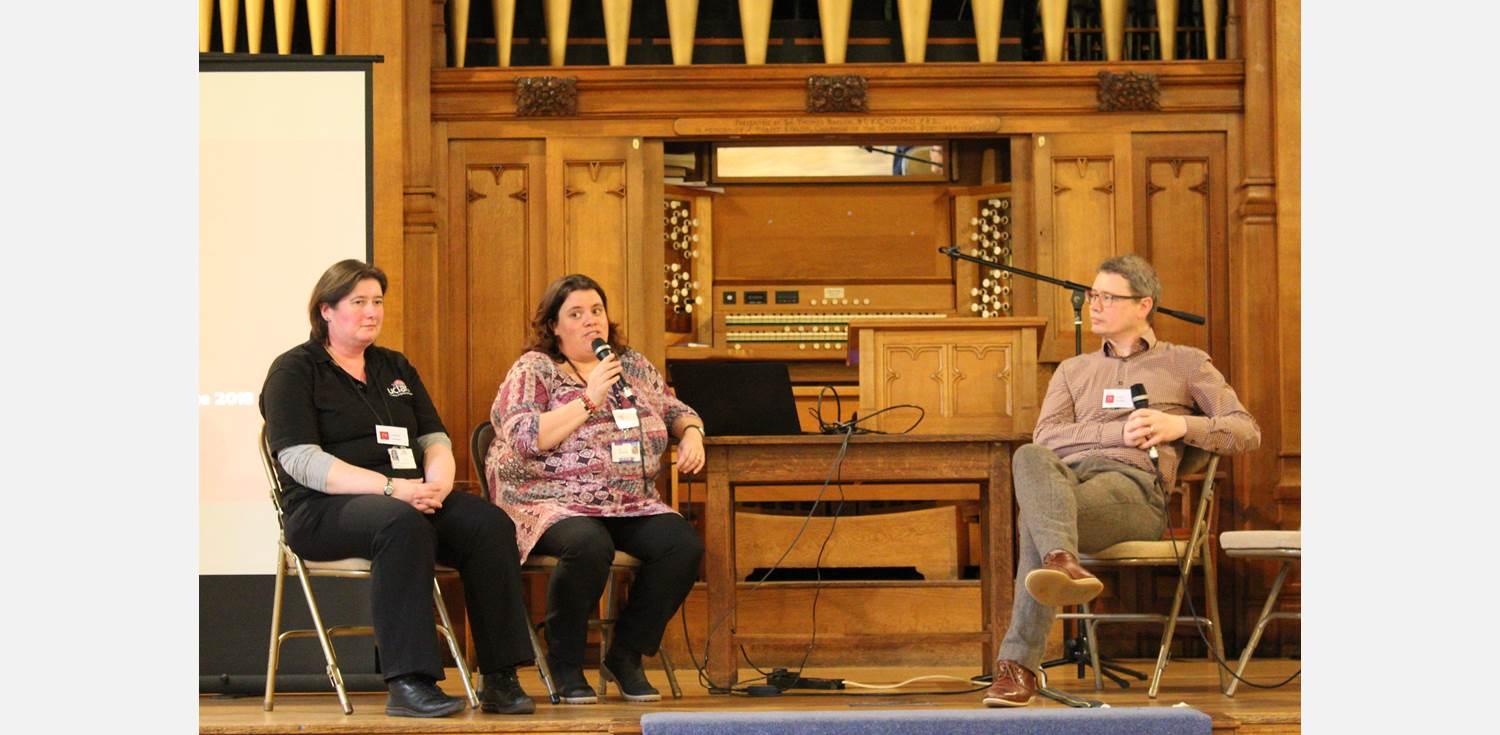 YSJ Conference great hall panel