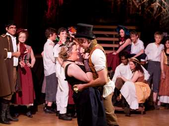 The Joint Production Celebrated 25 Years of Les Miserables with its own stunning performance of the legendary musical in 2010