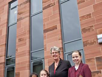 Opening of the new Junior Girls' School, Hesketh House