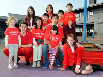Foundation United in Red for Japan for the Red Cross Japan Tsunami Appeal in 2011