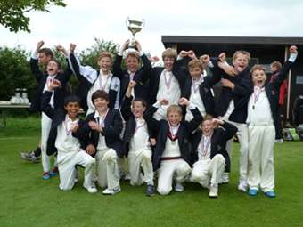 Junior Boys win the AJIS Cricket Cup