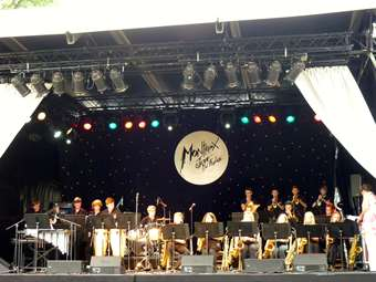 The Joint Jazz Band played at Montreux Jazz Festival
