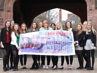 Year 12 students travelled to India to visit the charity SKCV in 2014