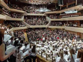 The Bridgewater Hall Gala Concert in March 2015 starts the School's 100/500 Anniversary Celebrations