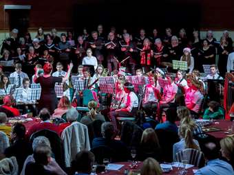A Christmas Concert showcased the talents of the Friends of Bolton School Choir and various ensembles