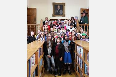 WBD GD library costumes