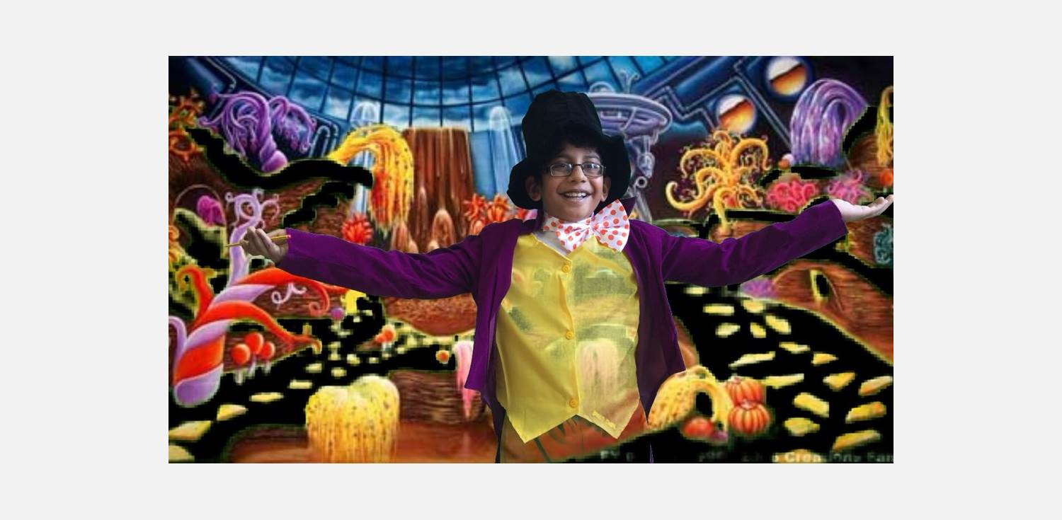 World Book Day 2018 Wonka