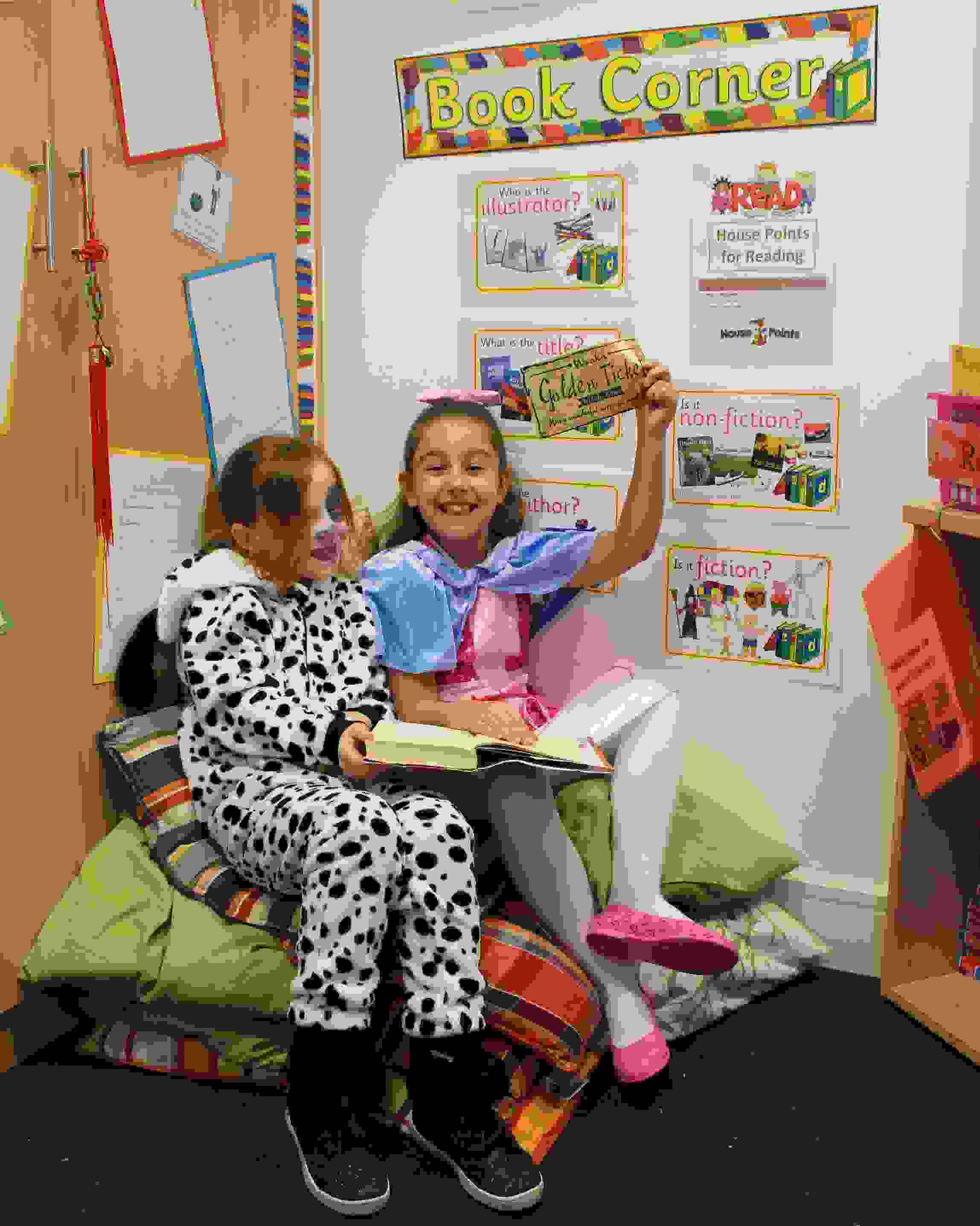 World Book Day Book Corner