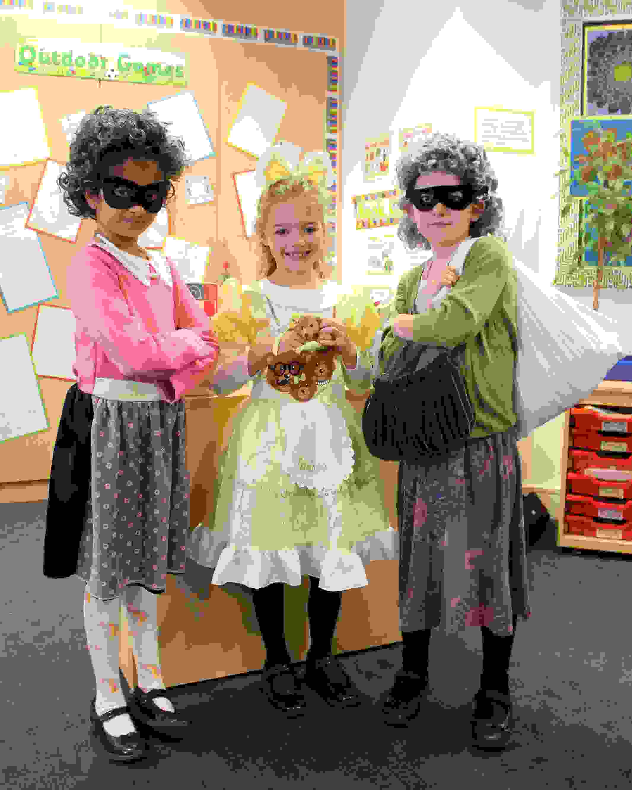 World Book Day Gangsta Grannies and Goldilocks