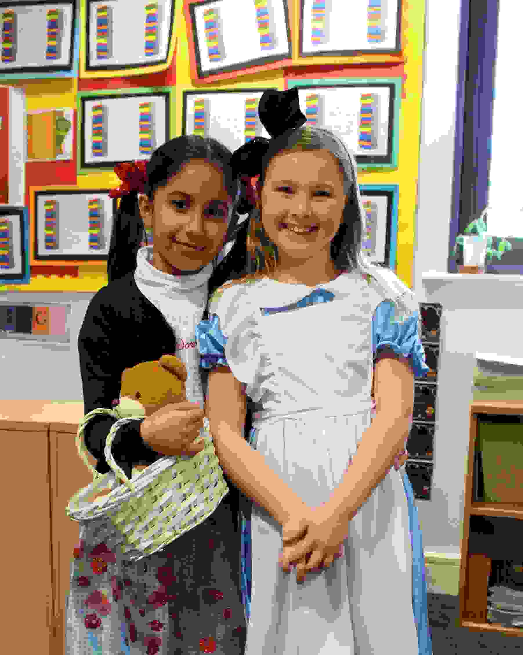 World Book Day Dorothy and Alice