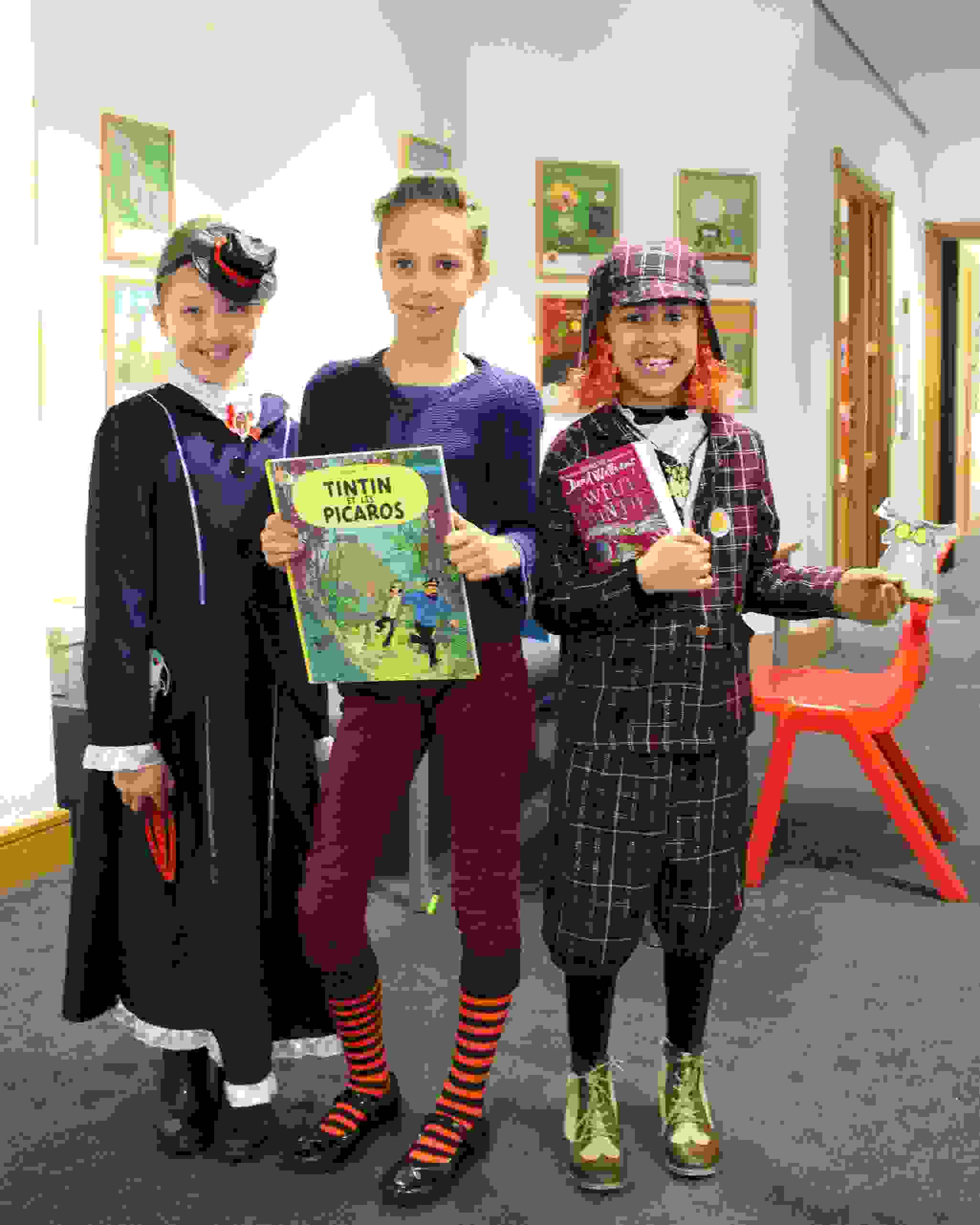 World Book Day with books