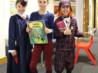 Mary Poppins, Tintin and 'Awful Auntie'