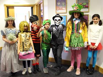 A host of characters for World Book Day