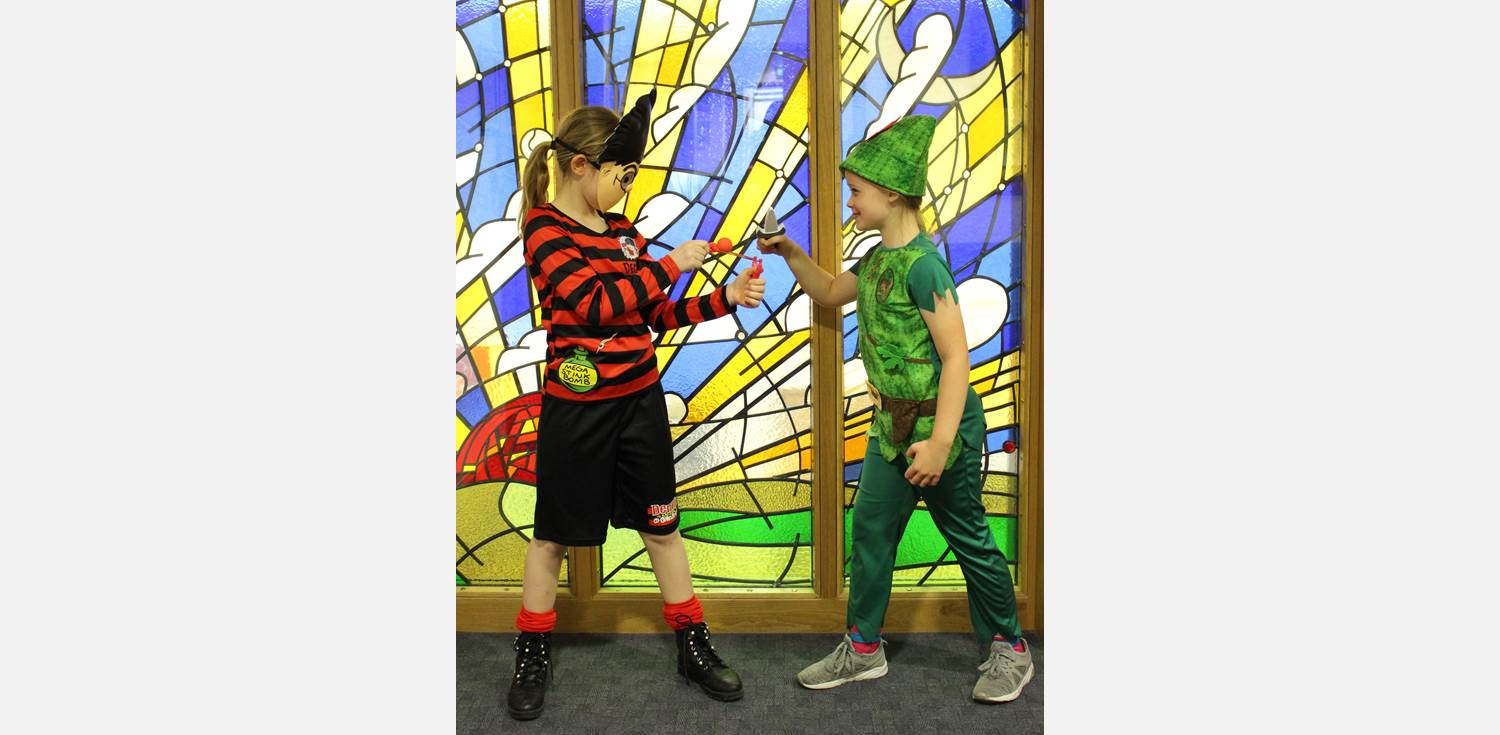 World Book Day - Dennis the Menace vs Peter Pan