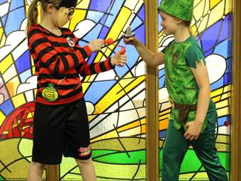 Dennis the Menace vs Peter Pan