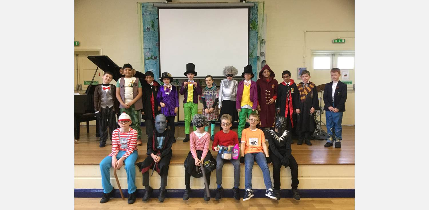 World Book Day 2018 group (2)