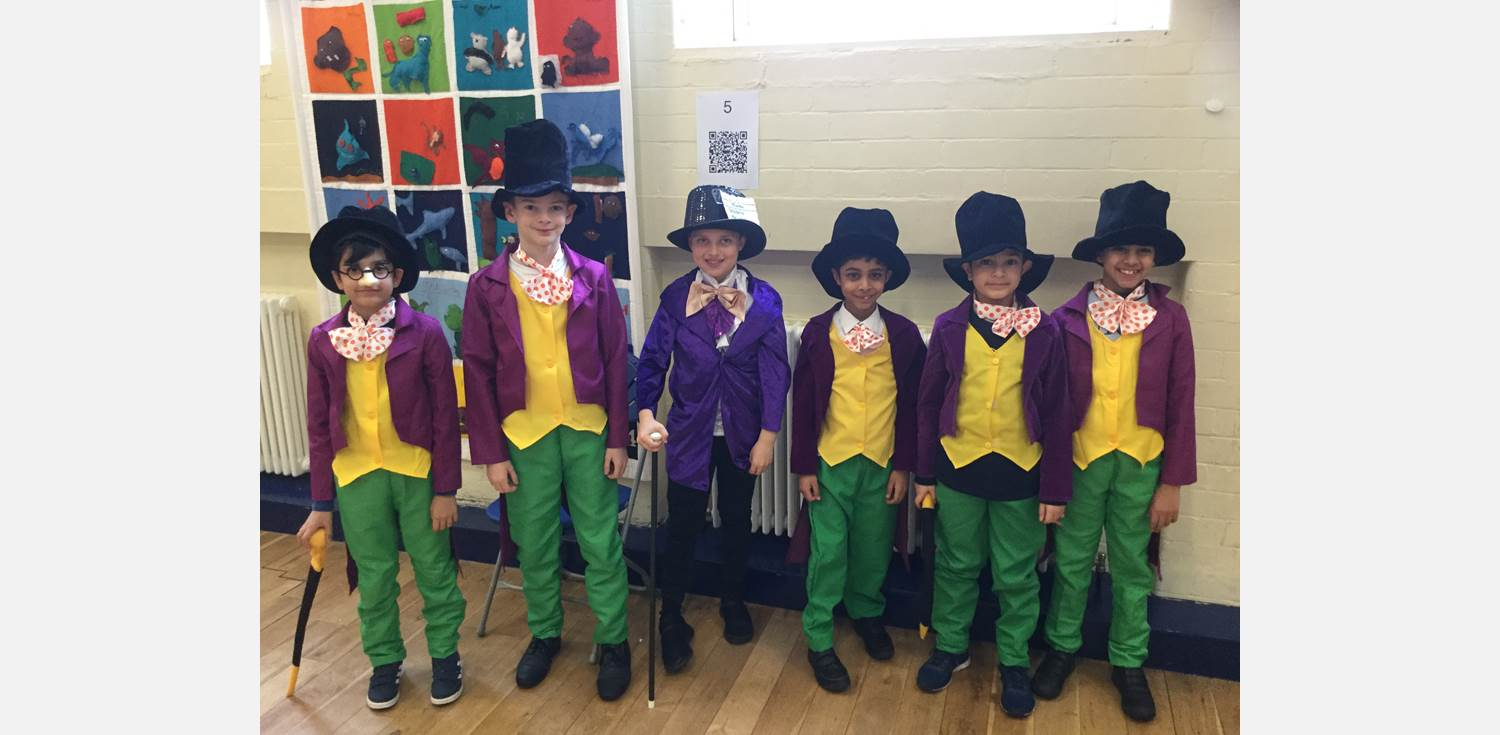 World Book Day 2018 Wonkas