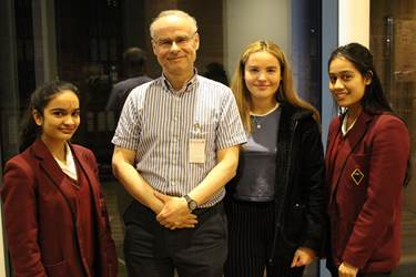 Jeff Ralph gave The Royal Society of Statistics William Guy Lecture at Bolton School, talking about 'Society and Teenagers: How statistics reveal the changes in young people's lives through the last century' (2017/18 Lectures)