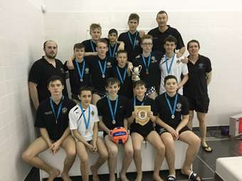 U15 Water Polo win