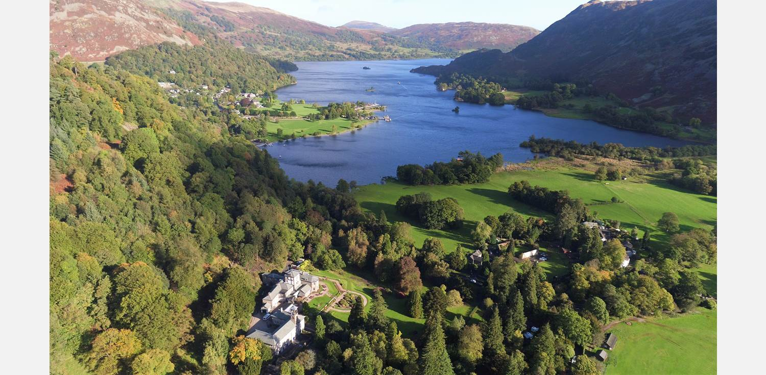 Patterdale Hall aerial