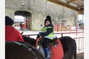 Nursery Class Smithills Open Farm riding