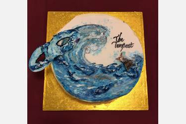 The Tempest cake
