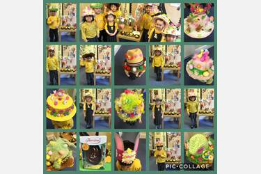 Nursery Class Easter Bonnet Competition