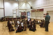 Maths Workshop in the roundhouse