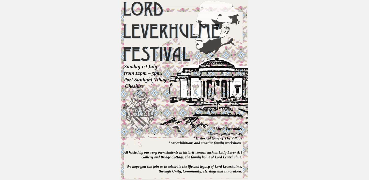 Lord Leverhulme Festival Poster