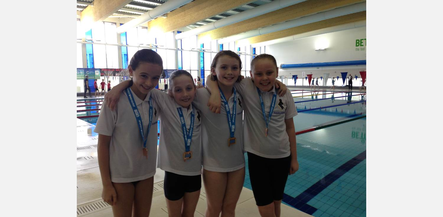 Swimming - Greater Manchester School Games medallists
