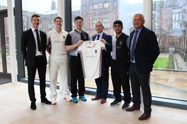 Cowgill Holloway Cricket Kit Sponsors