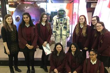 MSI Manchester Tim Peake exhibit