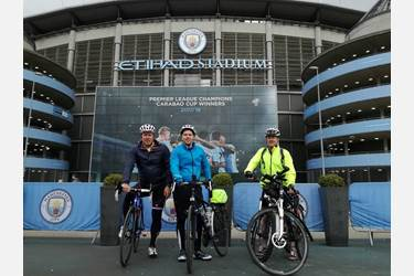 Premier League Cycle Challenge Man City