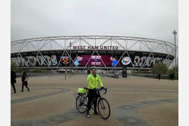 Premier League Cycle Challenge West Ham