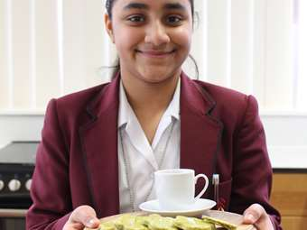 Bake Off Savoury Crackers Y7 Winner