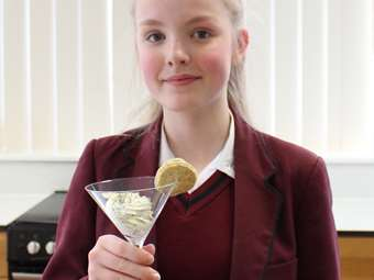 Bake Off Savoury Crackers Y8-9 winner