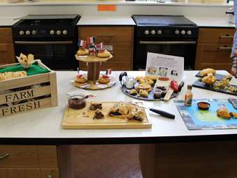 Bake Off Regional Influence Y7