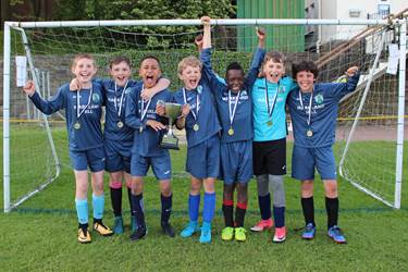 Y5-6 Football Festival winners