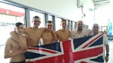 GB U19 Water Polo team OBs and pupils