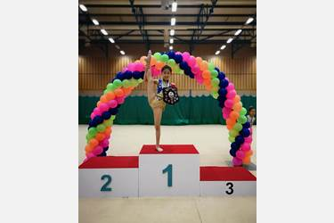Dinburgh Gymnastics NW U11 Champion May 2018