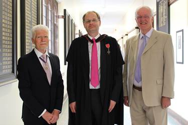 Prizegiving Guest Speaker, Head and Chair of Governors